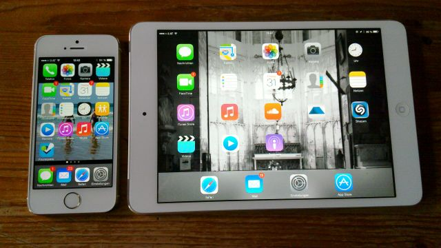 iPhone 5S und iPad mini