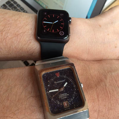 Apple Watch und Omega Constellation
